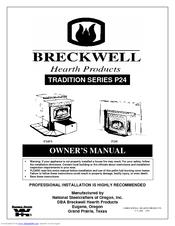 Breckwell P24FSA Manuals
