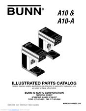 Bunn A10 Automatic Manuals