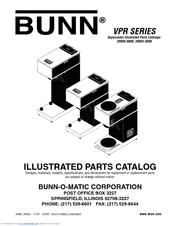 Bunn VPR Series Manuals