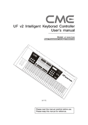 Cme UF70 Manuals