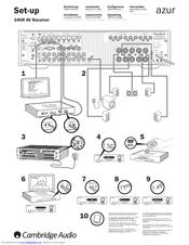 Cambridge Audio Azur 340R Manuals