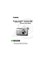 Canon Powershot SD1300 IS Manuals