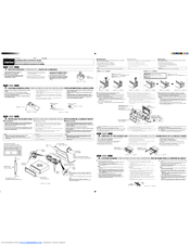 Clarion DXZ555MP Manuals