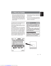 Clarion M255 Manuals