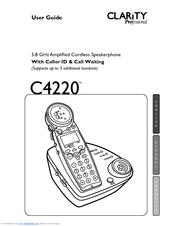 Clarity Professional C4220 Manuals