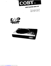 Coby DVD-707 Manuals