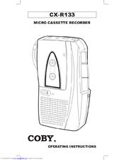 Coby CX-R133 Manuals