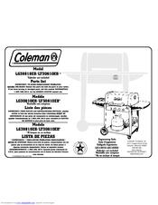 Coleman 3000 Series LG30610EB Manuals