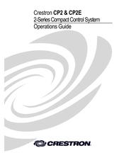 Crestron CP2E Manuals