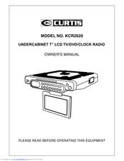 Curtis KCR2620 Manuals