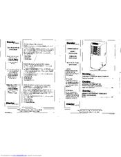 Danby Designer DPAC8020 Manuals