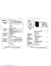 Danby Designer DCR34W Manuals