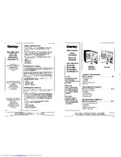 Danby DCR412BLS Manuals