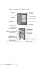 Dell Dimension 4700 Series Manuals