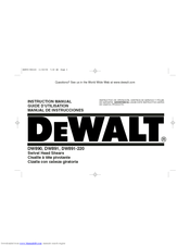 Dewalt DW890 Manuals