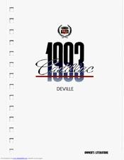 Cadillac 1993 DeVille Manuals