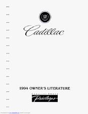 Cadillac 1994 Fleetwood Manuals