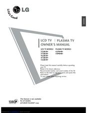 Lg 47LB5RE Manuals