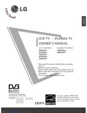 Lg 42LG70 Series Manuals