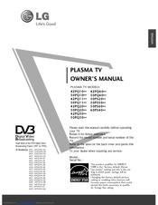 Lg 42PQ6000 Manuals