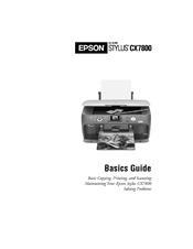 EPSON STYLUS CX7800 MANUAL PDF