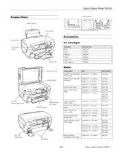 Epson Stylus Photo RX700 Series Manuals