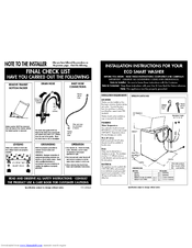 Fisher & Paykel ecosmart GWL15 Manuals
