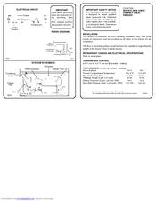 Frigidaire FFC09C3AW1 Manuals