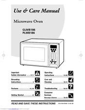 Frigidaire PLMB186CC Manuals