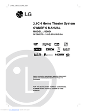 Lg J10HD Manuals