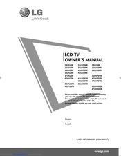 Lg 32LH20R Manuals