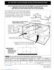 Frigidaire Professional PLES399EC Manuals