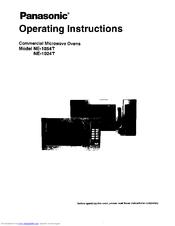 Panasonic NE-1054F Manuals