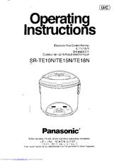 Panasonic SRTE10NVLVA Manuals