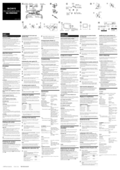 Sony SA-VE835ED Manuals