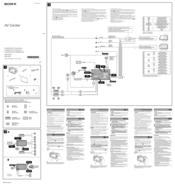 Sony XAV62BT Manuals