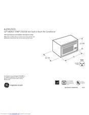 Ge AJCM12DCD Manuals