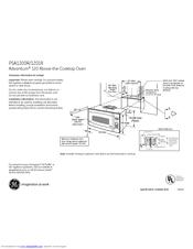 Ge Café Advantium PSA1201RSS Manuals