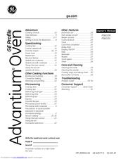 Ge Profile Advantium PSB2201 Manuals