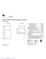 Ge GTS22JCP Manuals