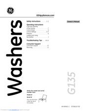 Ge GTWN4250M Manuals