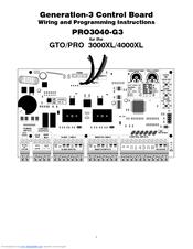 Gto SW-4000XL Manuals