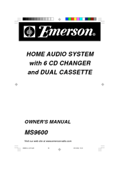 Emerson MS9600 Manuals