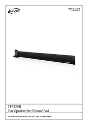 Ilive ITP280B Manuals