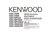 Kenwood KDC-4022 Manuals