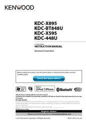 kenwood kdc x595 wiring diagram 2002 pontiac grand am manuals instruction manual