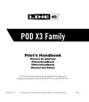 Line 6 POD X3 Live Manuals