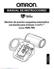 Omron INTELLI-SENSE HEM-780 Manuals