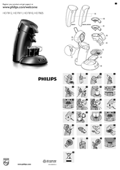 Philips Senseo HD7811 Manuals