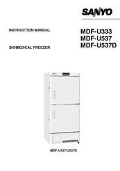 Sanyo MDF-U537D Manuals